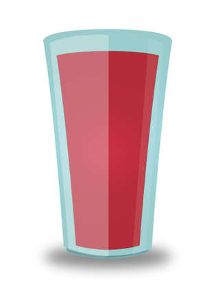 quencher: Strawberry Beverage Glass
