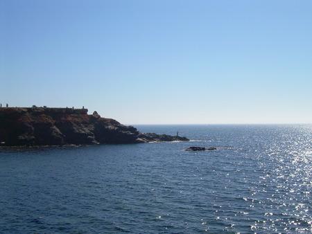 vista: vista oceanica Stock Photo