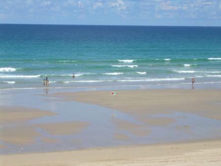 sol: playa invierno