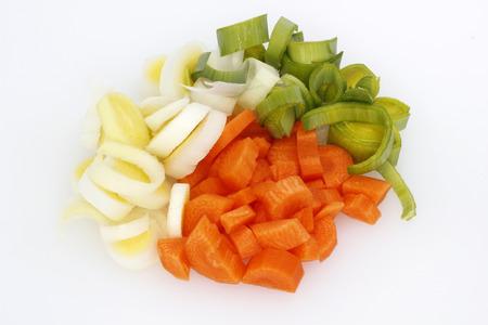 verdure: Vegetables carrots leeks food verdure