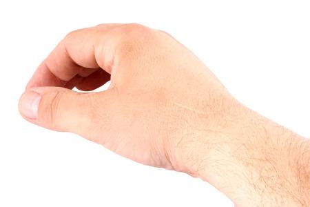 scar: Scar on the hand