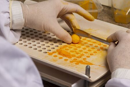 pharmaceutical using encapsulating plate for the production of homeopathic or allopathic remedies.