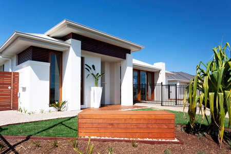 A modern and luxury house exterior design