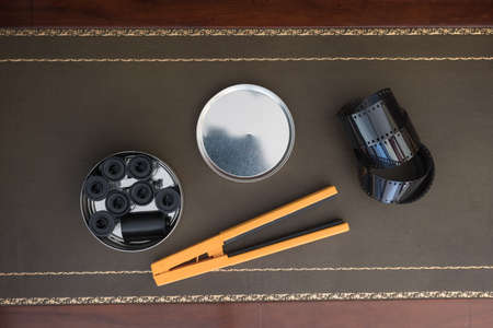 35MM PHOTO FILM AND REEL