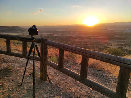 landscape photography from viewpoint. sunset photography.