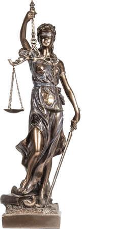 Symbol of justice. Vector illustration.