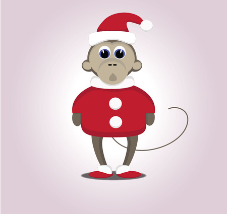 hollidays: christmas monkey