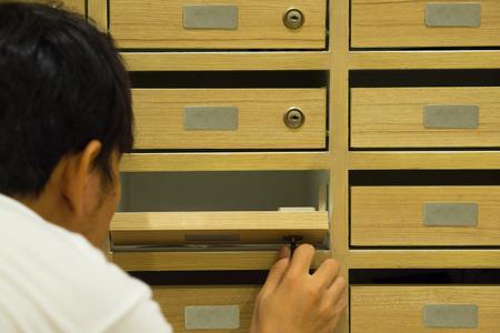 Mailboxes at Condo Thailand