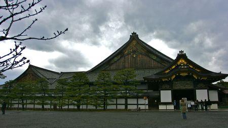 nijo: Kyoto nijo castle Stock Photo