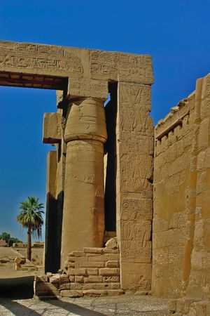 thebes: Karnak temple at Luxor - Thebes - Egypt