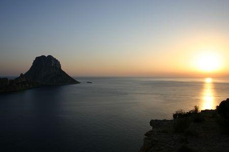 sunrise at ibiza photo