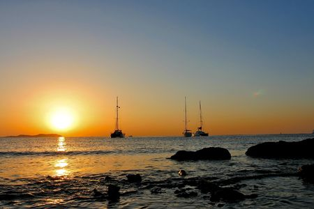antonio: Ibiza sunset on san antonio