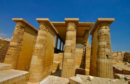 djoser: Saqqara pyramids complex - Cairo - Egypt Stock Photo