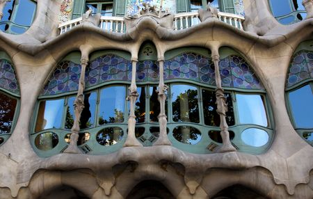 paseo: Casa Batllo - Antoni Gaudi - Barcelona