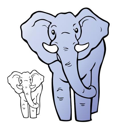 Elephant Illustration Stock Vector - 7558882