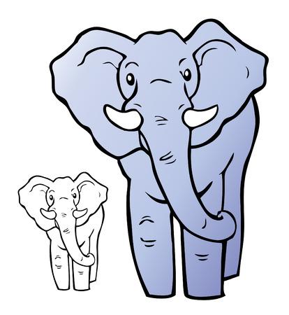 Olifant illustratie