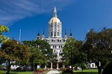 Connecticut State House in Hartford Connecticut