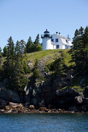 Bear Island Lighthouse Stock Photo