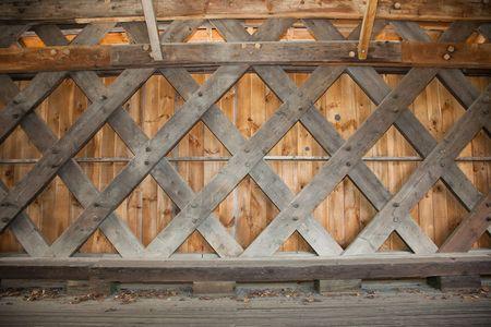 covered bridge': Lattice Framing of a Covered Bridge