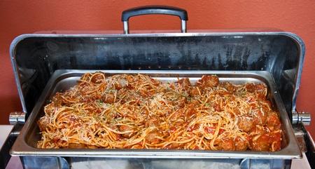 Spaghetti and Meatballs Фото со стока - 11084334