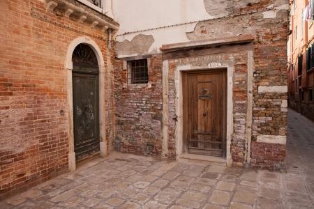 Old Doorways Stock Photo