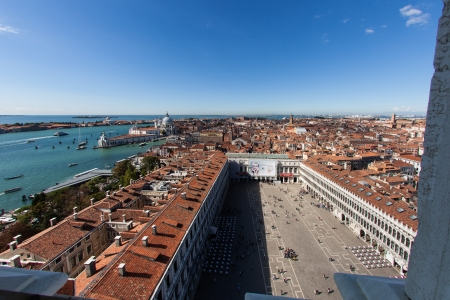 st mark's square: St  Marks Square view from Campanile Tower