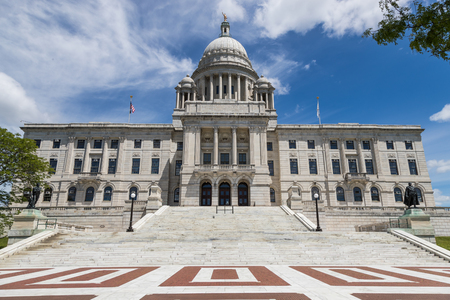 The State Capitol building of Rhode Island Stock Photo