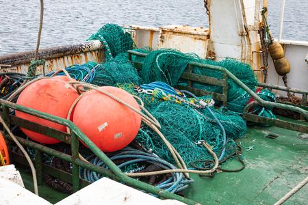 Commercial Fishing Gear Фото со стока