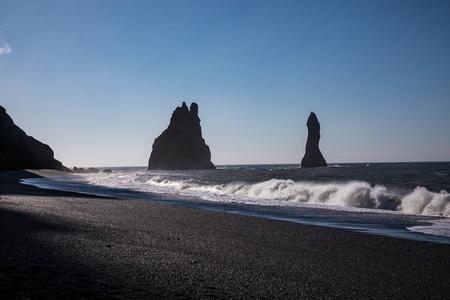 Dyrhólaey Promontory located on the South Coast of Iceland