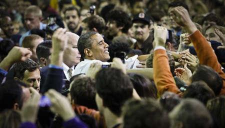 senator: President Obama and Senator Patty Murray Get Out the Vote Rally, University of Washington, Seattle, Washington,10212010