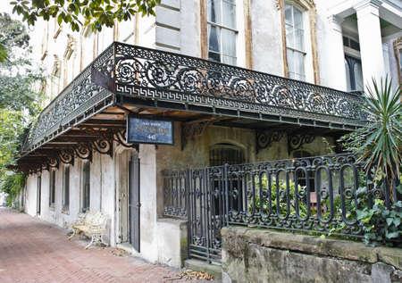 Savannah,GA architectural detail,exterior.