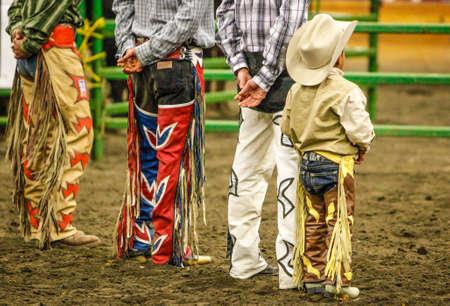 The Littlest Cowboy,Mexican Rodeo Cowboys, Monroe, Washington, November 2013
