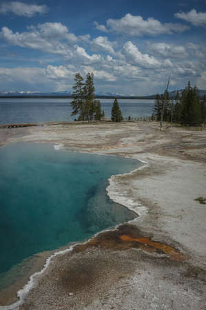 Yellowstone Lake and Caldron