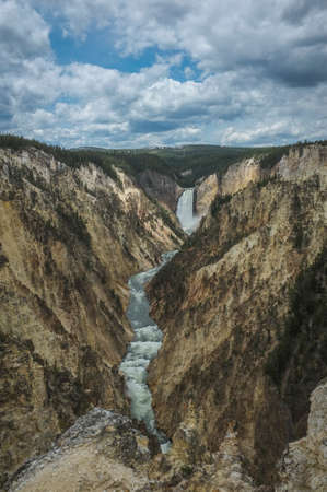 Yellowstone Falls and Canyon