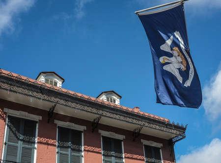 orleans: new orleans flag detail
