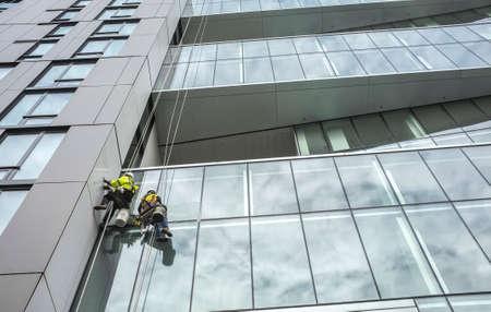 High-rise window washers
