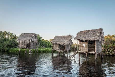 River Huts, San Blas, Mexico