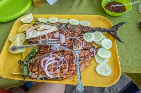 Fresh Fisher Platter, San Blas, Mexico