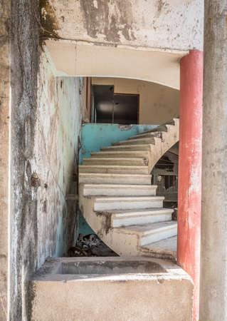 San Blas, Mexico staircase.