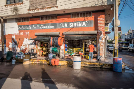 San Blas, Mexico hardware store.