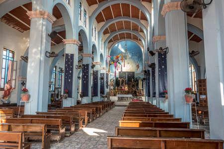 San Blas, Mexico cathedral, interior.