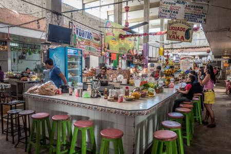 San Blas, Mexico market.