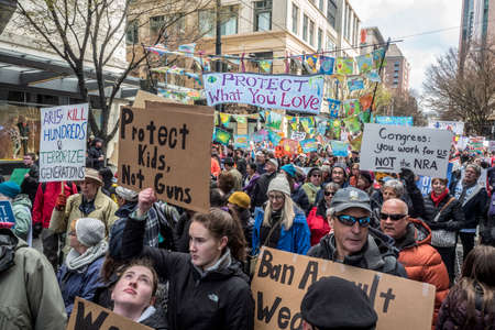 March for Our Lives, Seattle, 2018