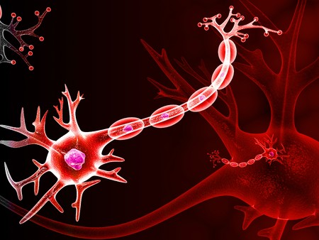 neuro: NEURON  Stock Photo