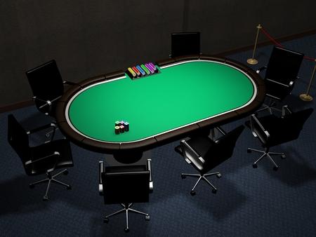 Poker table Room