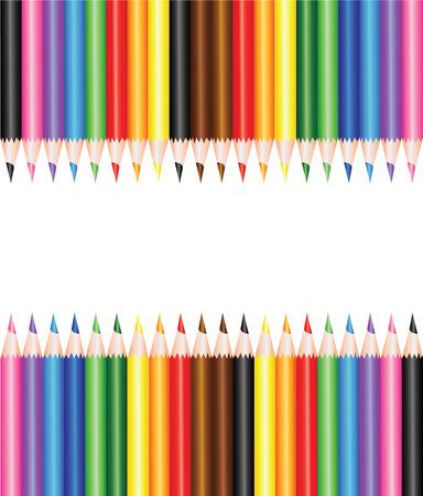 crayons: Colorful school crayons