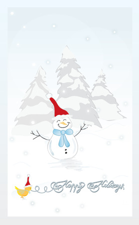 x mas parties: Merry Christmas theme with snowman