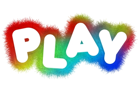 title: Play title Stock Photo