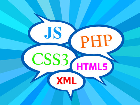 html5: Text Clouds with Programming Languages