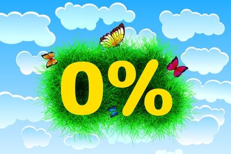 Zero Percent Banco de Imagens